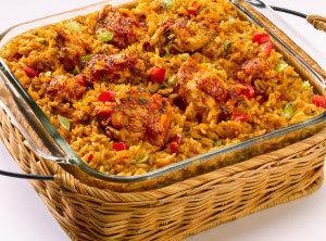 Spanish Rice Bake Recipe