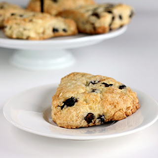 White Chocolate Saskatoon Berry Scones