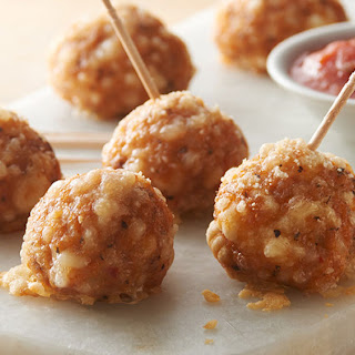 Italian Sausage Crescent Cheese Balls Recipe