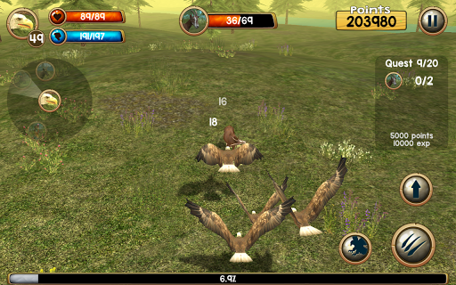 Wild Eagle Sim 3D apkpoly screenshots 7