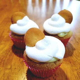 Banana Cream Pie Cupcakes.