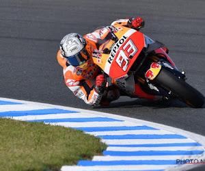 Wereldkampioen MotoGP is er ook in de volgende Grote Prijs niet bij