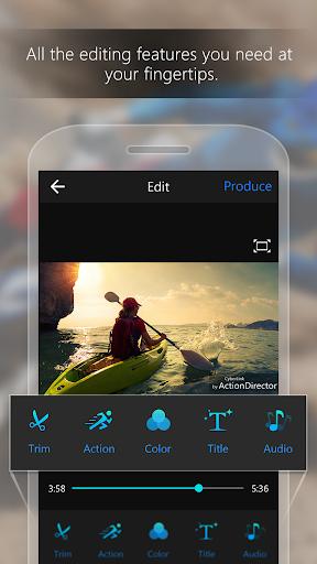 ActionDirector Video Editor - Edit Videos Fast 5.0.1 Screenshots 1