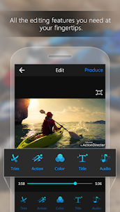 ActionDirector Video Editor – Edit Videos Fast v4.0.0 [Unlocked] 1