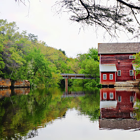 dells mill by Jon Radtke - Buildings & Architecture Architectural Detail ( dells mill )