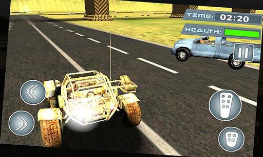 フューリー砂漠の死のレース3D