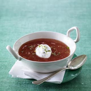 Sweet Rhubarb Soup