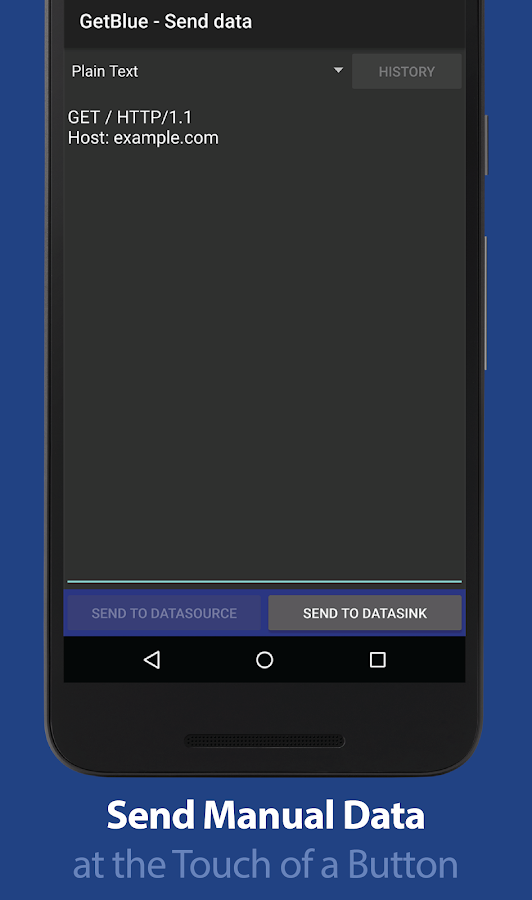 GetBlue Bluetooth Reader, Demo- screenshot