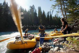 Photo: Whitewater rafting on the Chilko River. British Columbia, Canada.