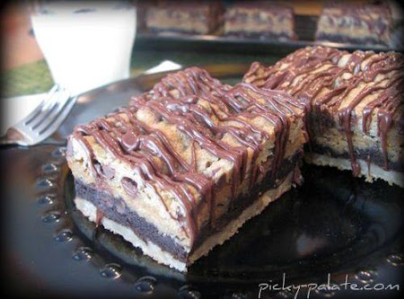 The Motherlode Layered Cookie Bars! Recipe