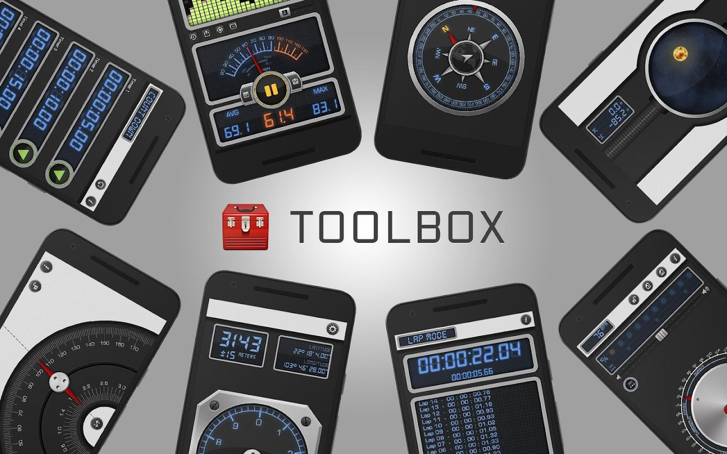 Toolbox PRO - Smart, Handy Measurement Tools- screenshot