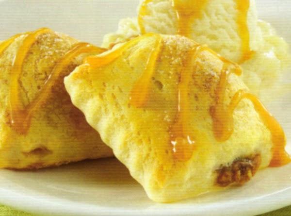 Caramel-banana Ravioli Recipe