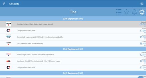 UK Live Sport TV Guide 2.01 screenshots 10