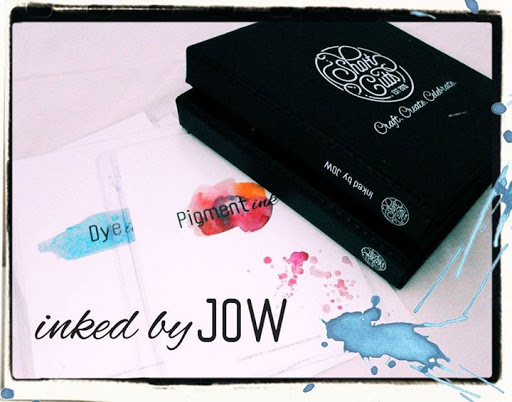 Inked by Jow - Series 2: Oxide Inks : Short Cuts Craft