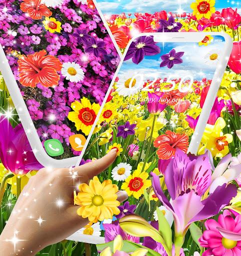 Flowers live wallpaper 101 screenshots 2