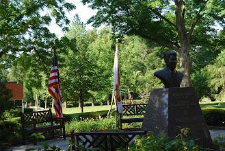 Photo: Reagan Memorial Ceremony, Reagan Peace Garden of Eureka College, June 5, 2012
