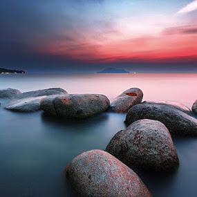 singkawang berasap by Hendra Heng - Landscapes Sunsets & Sunrises