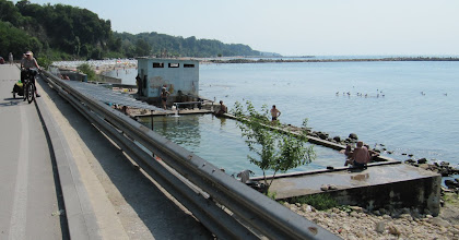 Photo: Day 93 - Thermal  Baths on the Beach  in Varna