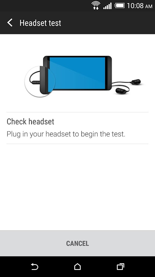 HTC Help- screenshot