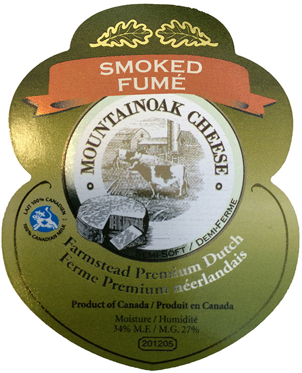 Mountainoak Cheese - Farmstead Premium Dutch Semi-soft – Smoked