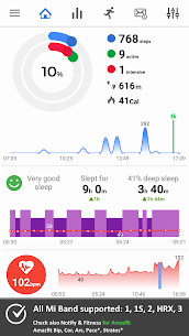Notify & Fitness for Mi Band Pro v8.3.8 Cracked APK 1