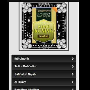 Kitab Kuning - náhled