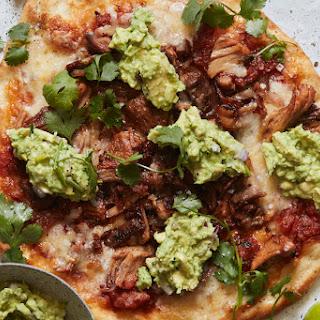 Carnitas and Guacamole Pizza Recipe