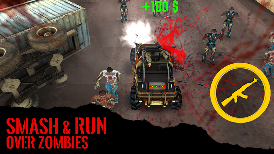 Drive Die Repeat - Zombie Game- screenshot