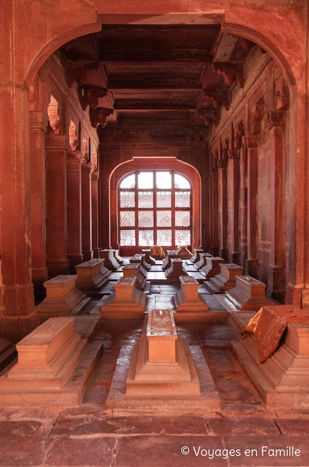 tombes, jama masjid fatehpur sikri