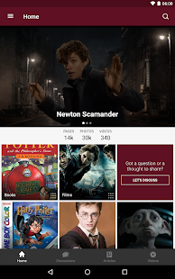 Fandom: Harry Potter- screenshot thumbnail