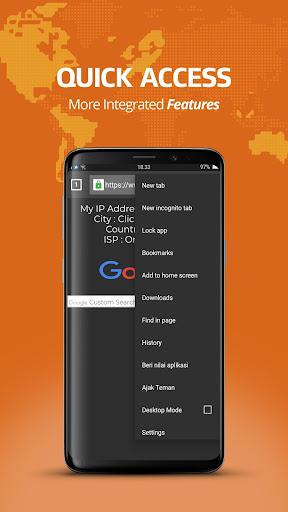 Free Anti Block Browser - Unblock Website 12.2 Screenshots 3