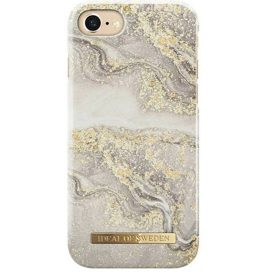 iDEAL OF SWEDEN Apple iPhone 8/7/6/6S Sparkle Greige Marble