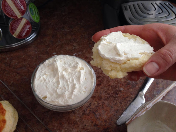 Faux Clotted Cream Recipe