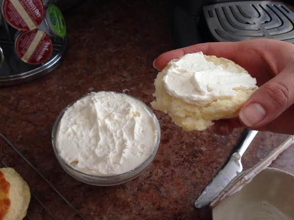 On Fresh Scones This Recipe Is A Decent Alternative To Clotted Cream.