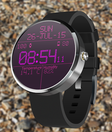 LED Watch face with Weather  screenshots 4
