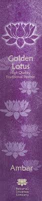 Rökelse Golden Lotus - Ambar