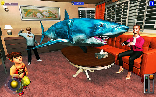 Flying Shark Simulator : RC Shark Games 1.1 screenshots 9