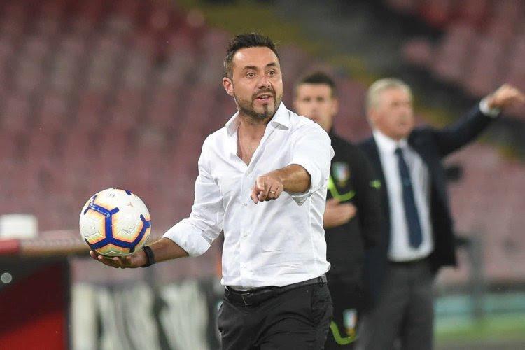 """Très remonté, Roberto De Zerbi dézingue l'AC Milan : """"Peut-être que nous sommes trop cons à encore rêver"""""""