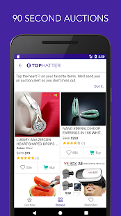 Tophatter - Shopping Deals- screenshot thumbnail