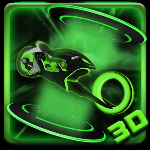 Neon Motor 3D Theme