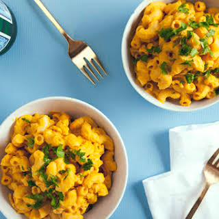 Butternut Squash Macaroni and Cheese (Vegan).