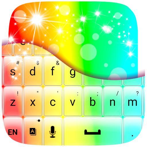 彩虹鍵盤主題 個人化 LOGO-玩APPs