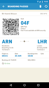 SAS Scandinavian Airlines - screenshot thumbnail