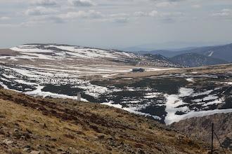 Photo: Krnonošské pláně západním směrem od Sněžky, Luční bouda (1410 m)