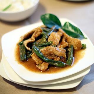Thai Pork And Green Beans Recipes