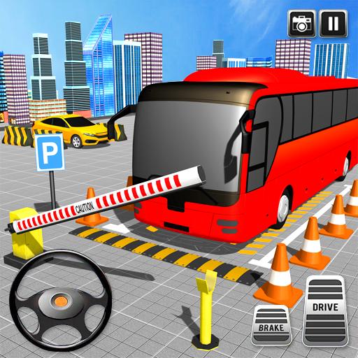 Baixar ônibus dirigindo jogo de simulador de estaciona 3D para Android
