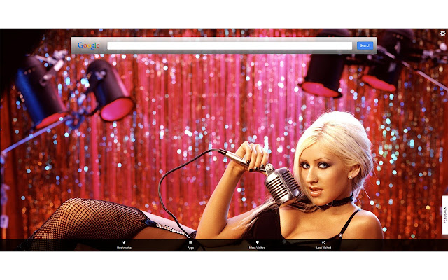 Christina Aguilera New Tab