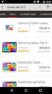 TrovaPrezzi prezzi e shopping- screenshot thumbnail