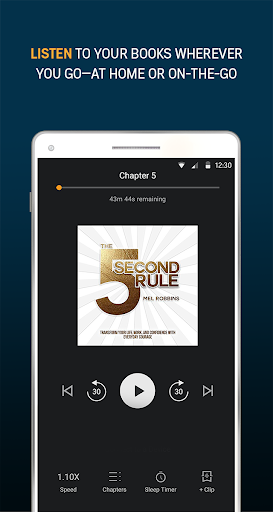 Audiobooks from Audible 2.31.1 gameplay | AndroidFC 2