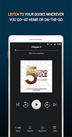 screenshot of Audiobooks from Audible
